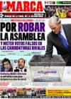 Portada diario Marca del 7 de Mayo de 2009