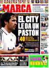 Portada diario Marca del 8 de Mayo de 2009