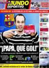 Portada Mundo Deportivo del 8 de Mayo de 2009
