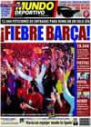Portada Mundo Deportivo del 9 de Mayo de 2009
