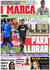 Portada diario Marca del 10 de Mayo de 2009