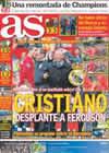 Portada diario AS del 11 de Mayo de 2009