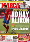 Portada diario Marca del 11 de Mayo de 2009