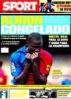 Portada diario Sport del 11 de Mayo de 2009