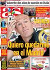 Portada diario AS del 12 de Mayo de 2009