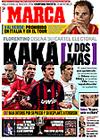 Portada diario Marca del 12 de Mayo de 2009