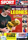 Portada diario Sport del 12 de Mayo de 2009
