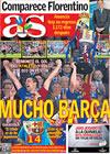 Portada diario AS del 14 de Mayo de 2009