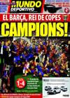 Portada Mundo Deportivo del 14 de Mayo de 2009