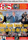 Portada diario AS del 15 de Mayo de 2009