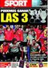 Portada diario Sport del 15 de Mayo de 2009