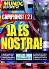 Portada Mundo Deportivo del 17 de Mayo de 2009