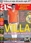 Portada diario AS del 20 de Mayo de 2009