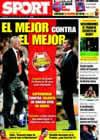 Portada diario Sport del 20 de Mayo de 2009