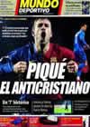 Portada Mundo Deportivo del 20 de Mayo de 2009
