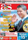 Portada diario AS del 22 de Mayo de 2009
