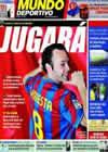 Portada Mundo Deportivo del 23 de Mayo de 2009