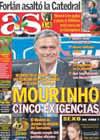 Portada diario AS del 24 de Mayo de 2009