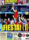 Portada Mundo Deportivo del 24 de Mayo de 2009