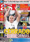 Portada diario AS del 25 de Mayo de 2009
