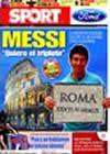 Portada diario Sport del 25 de Mayo de 2009