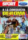 Portada diario Sport del 26 de Mayo de 2009