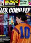 Portada Mundo Deportivo del 26 de Mayo de 2009