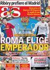 Portada diario AS del 27 de Mayo de 2009