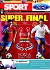 Portada diario Sport del 27 de Mayo de 2009