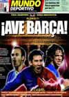Portada Mundo Deportivo del 27 de Mayo de 2009