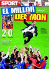 Portada diario Sport del 28 de Mayo de 2009