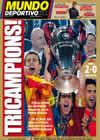 Portada Mundo Deportivo del 28 de Mayo de 2009