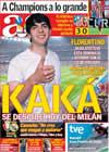Portada diario AS del 31 de Mayo de 2009