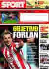 Portada diario Sport del 31 de Mayo de 2009