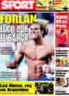 Portada diario Sport del 1 de Junio de 2009