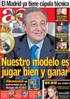 Portada diario AS del 2 de Junio de 2009