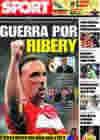 Portada diario Sport del 2 de Junio de 2009