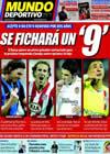 Portada Mundo Deportivo del 2 de Junio de 2009