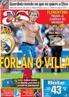Portada diario AS del 3 de Junio de 2009