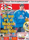 Portada diario AS del 4 de Junio de 2009