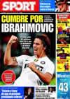 Portada diario Sport del 5 de Junio de 2009
