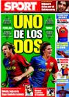 Portada diario Sport del 6 de Junio de 2009