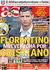 Portada diario AS del 7 de Junio de 2009
