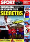 Portada diario Sport del 7 de Junio de 2009