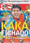 Portada diario AS del 8 de Junio de 2009