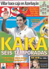 Portada diario AS del 9 de Junio de 2009