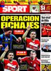 Portada diario Sport del 10 de Junio de 2009