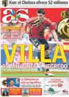 Portada diario AS del 11 de Junio de 2009