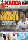 Portada diario Marca del 11 de Junio de 2009