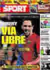 Portada diario Sport del 11 de Junio de 2009